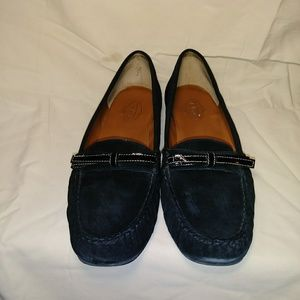 Talbots Suede & Leather Loafers.